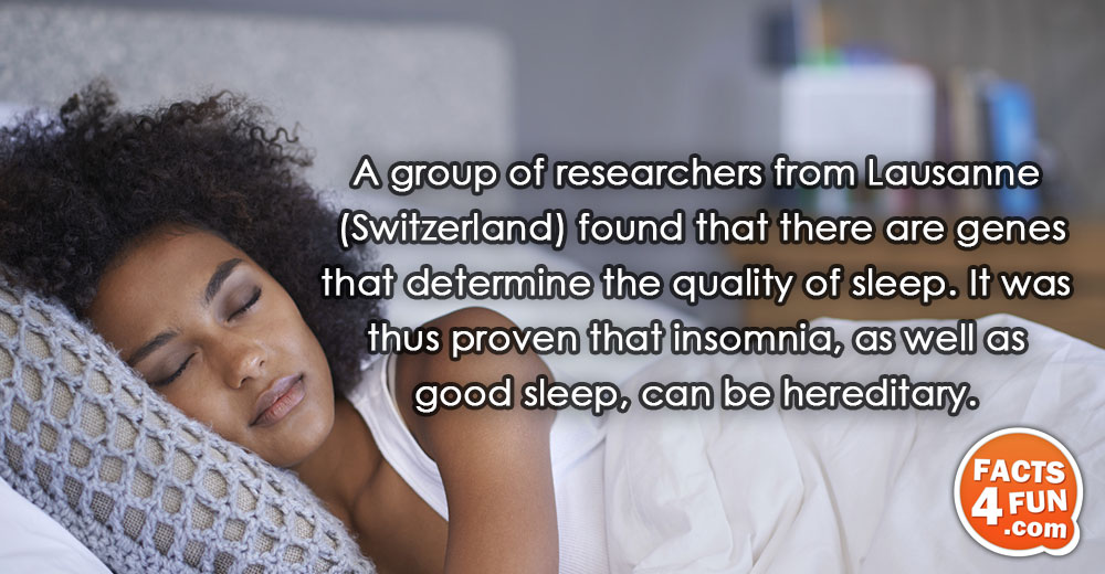 A group of researchers from Lausanne (Switzerland) found that there are genes that determine the quality